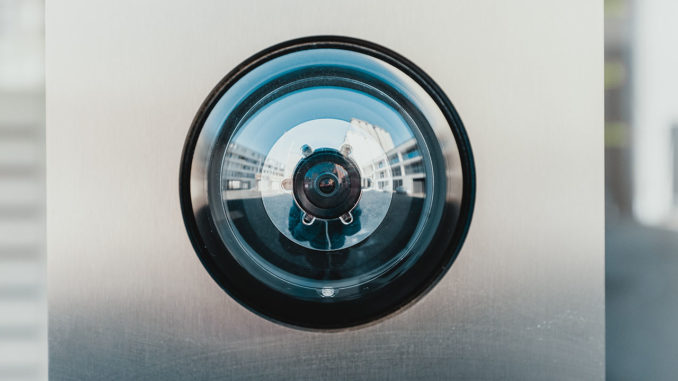 digital peephole for home security